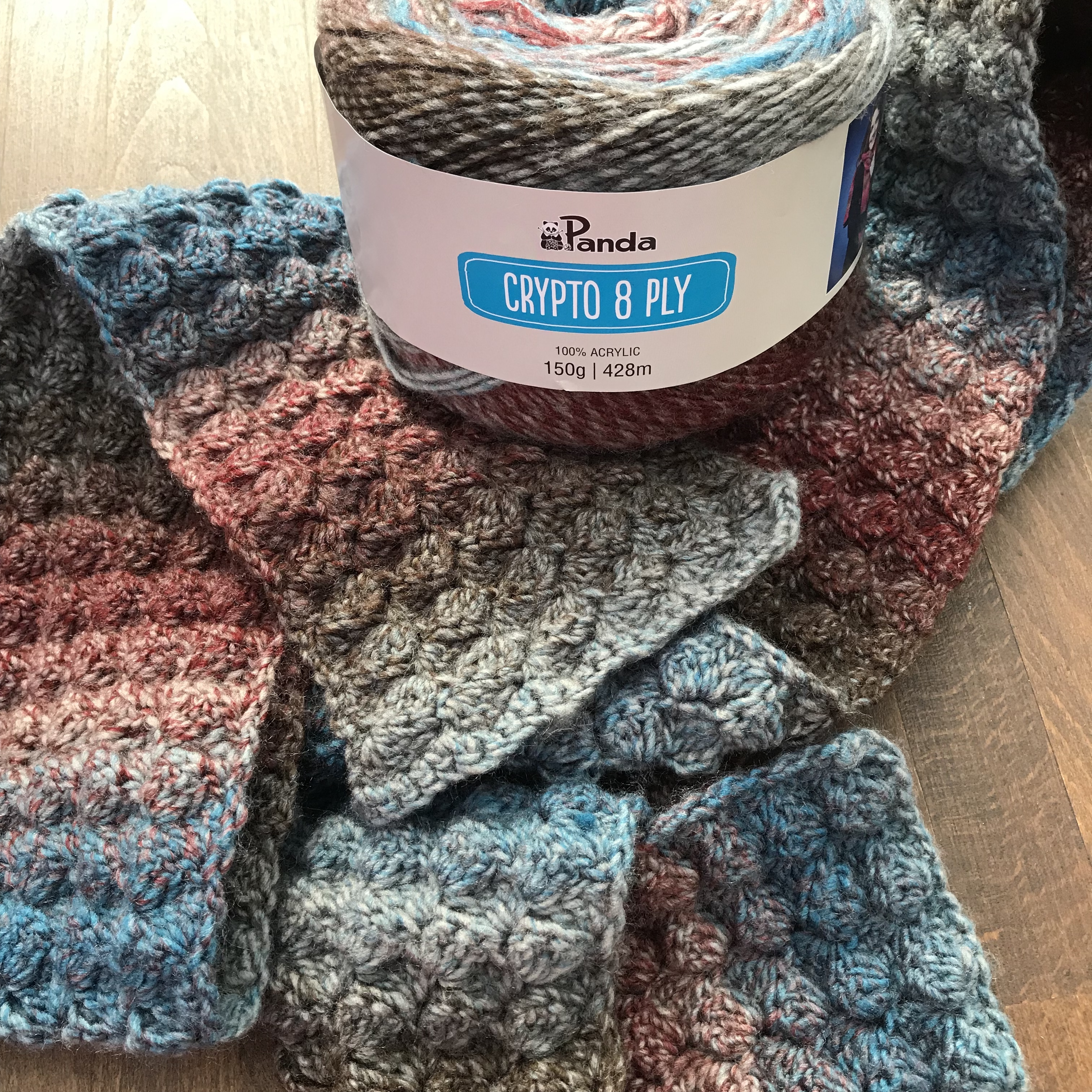 8 Ply Wool Knitting Patterns Free Bumpy Scarf Crochet Pattern In Crypto 8 Ply Knit Spin Weave