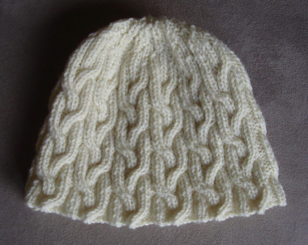 8 Ply Wool Knitting Patterns Plaited Cable Beanie In 8ply 2 Years To Lady Knitting Pattern Holly
