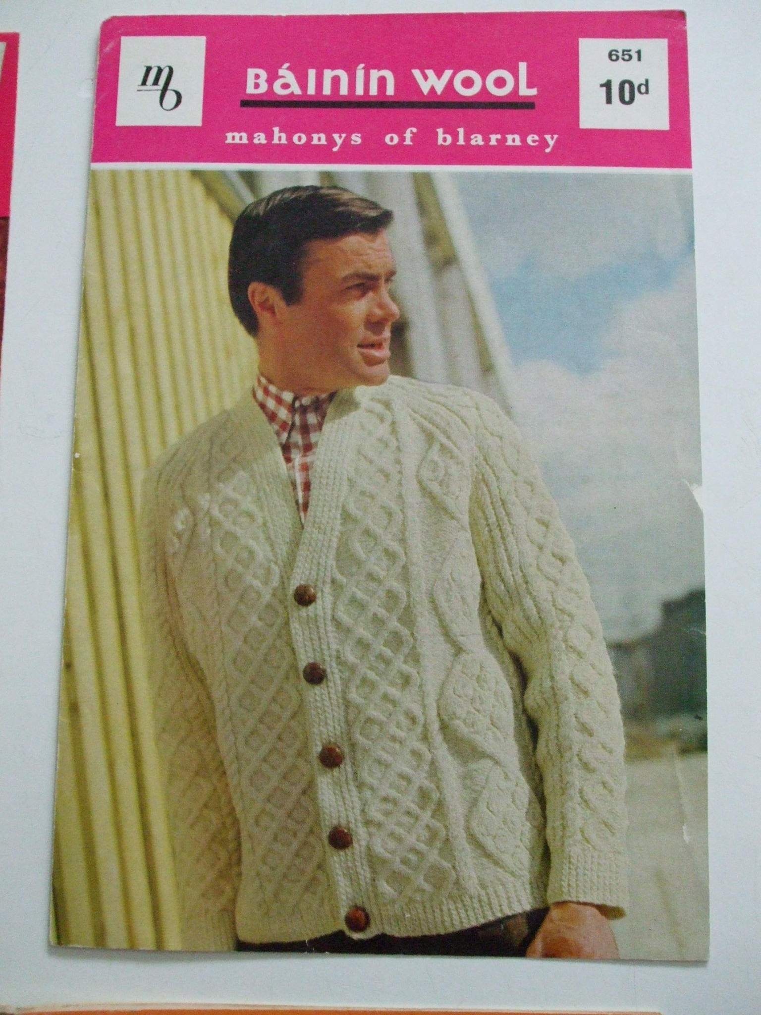 Aran Jumper Knitting Patterns Mens Aran Jacket Sweater Cardigan Knitting Pattern Mahonys Of Blarney No 651
