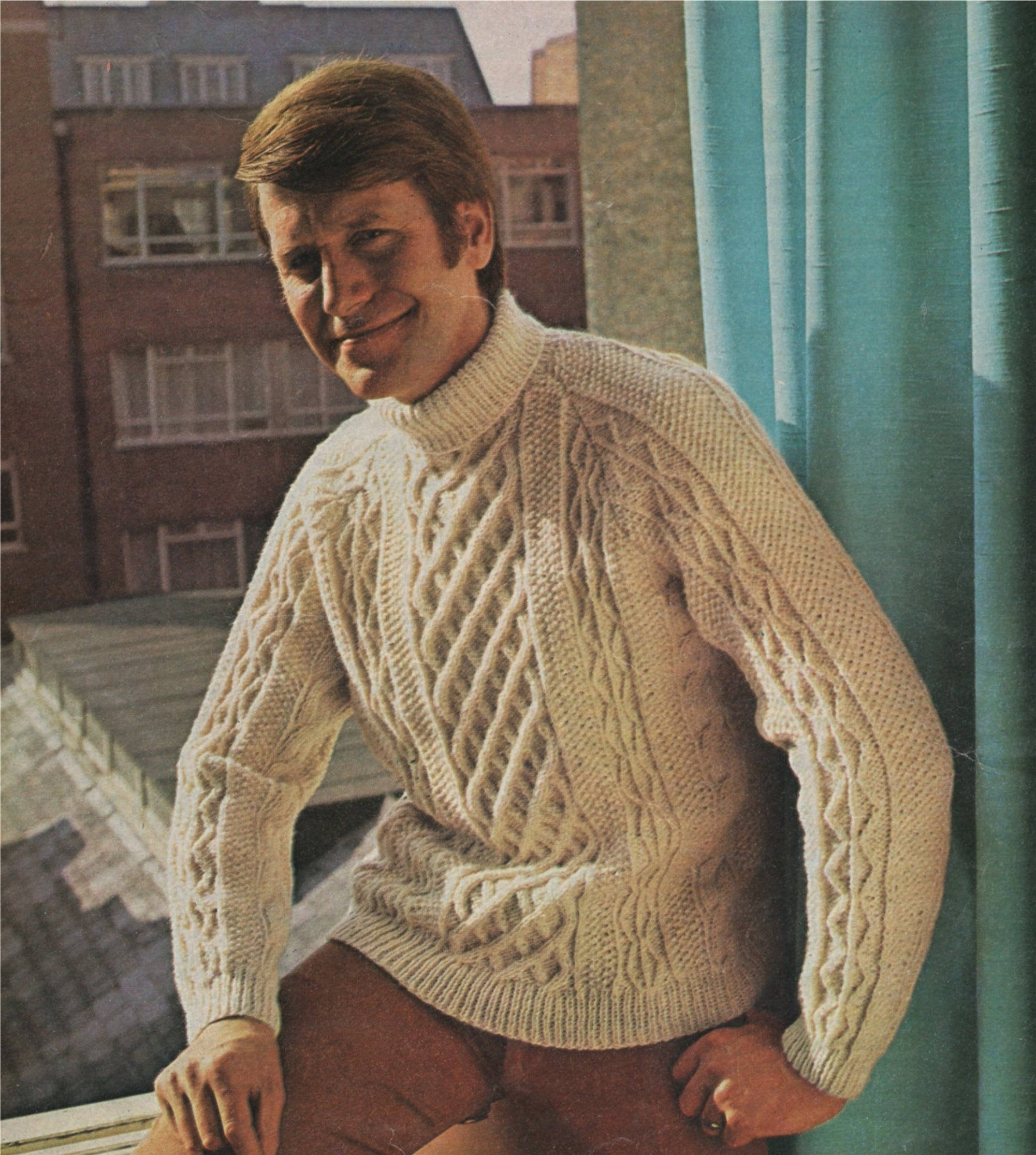 Aran Jumper Knitting Patterns Mens Aran Sweater Knitting Pattern Pdf Mans 36 38 40 42 44 And