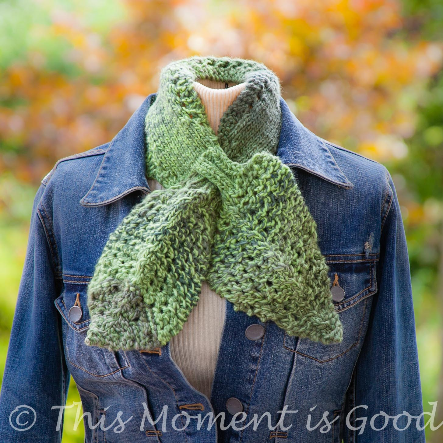 Ascot Scarf Knitting Pattern Loom Knit Leaves And Lace Ascotscarflet Pattern Loom Knitting