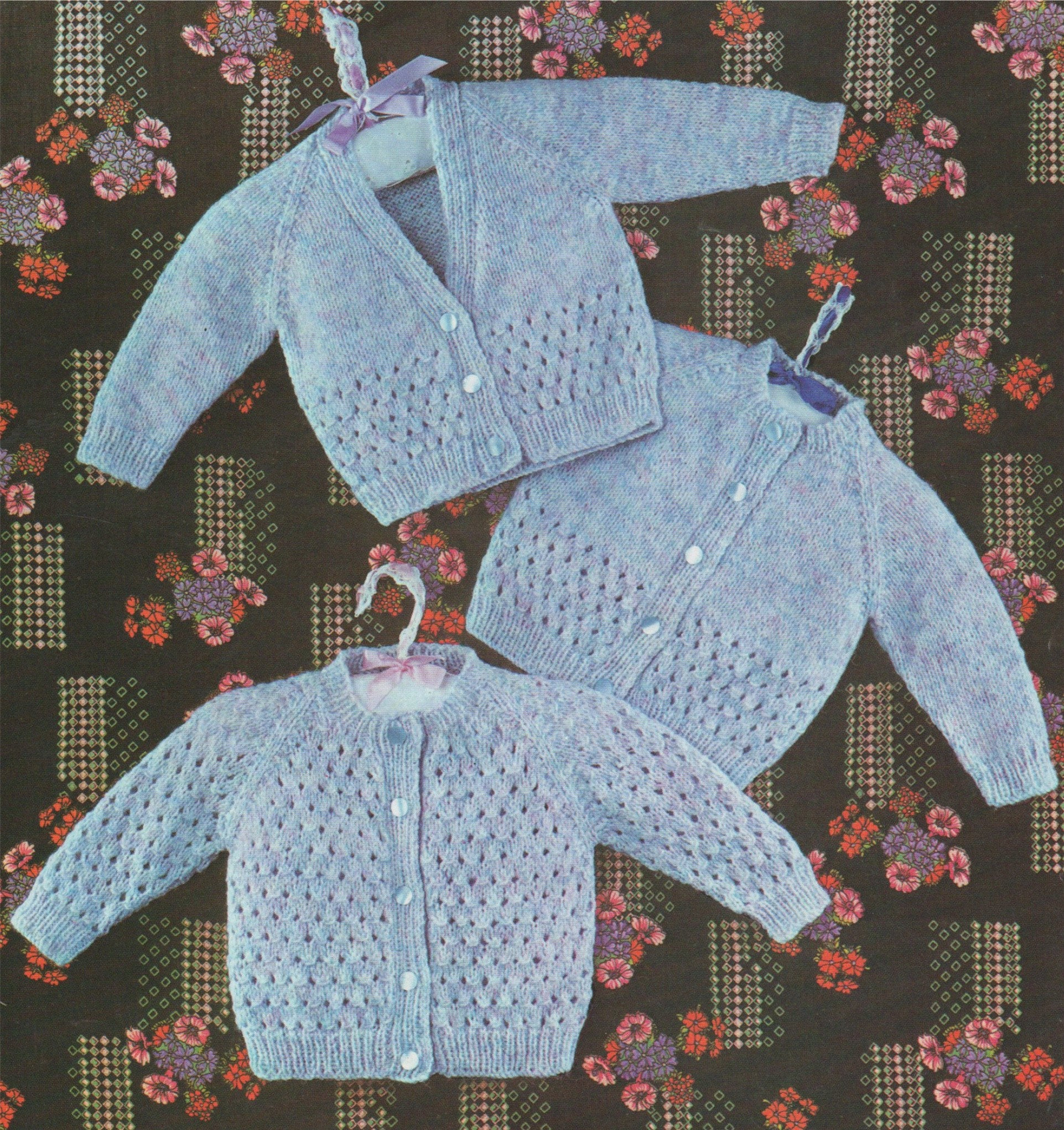 Baby Coat Knitting Pattern Ba Cardigan Knitting Pattern Pdf Boys And Girls 18 19 And 20 Inch
