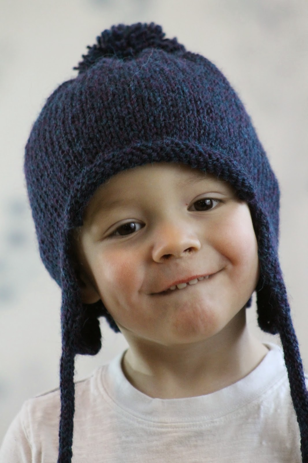 Baby Earflap Hat Knitting Pattern Balls To The Walls Knits All In The Family Earflap Hat