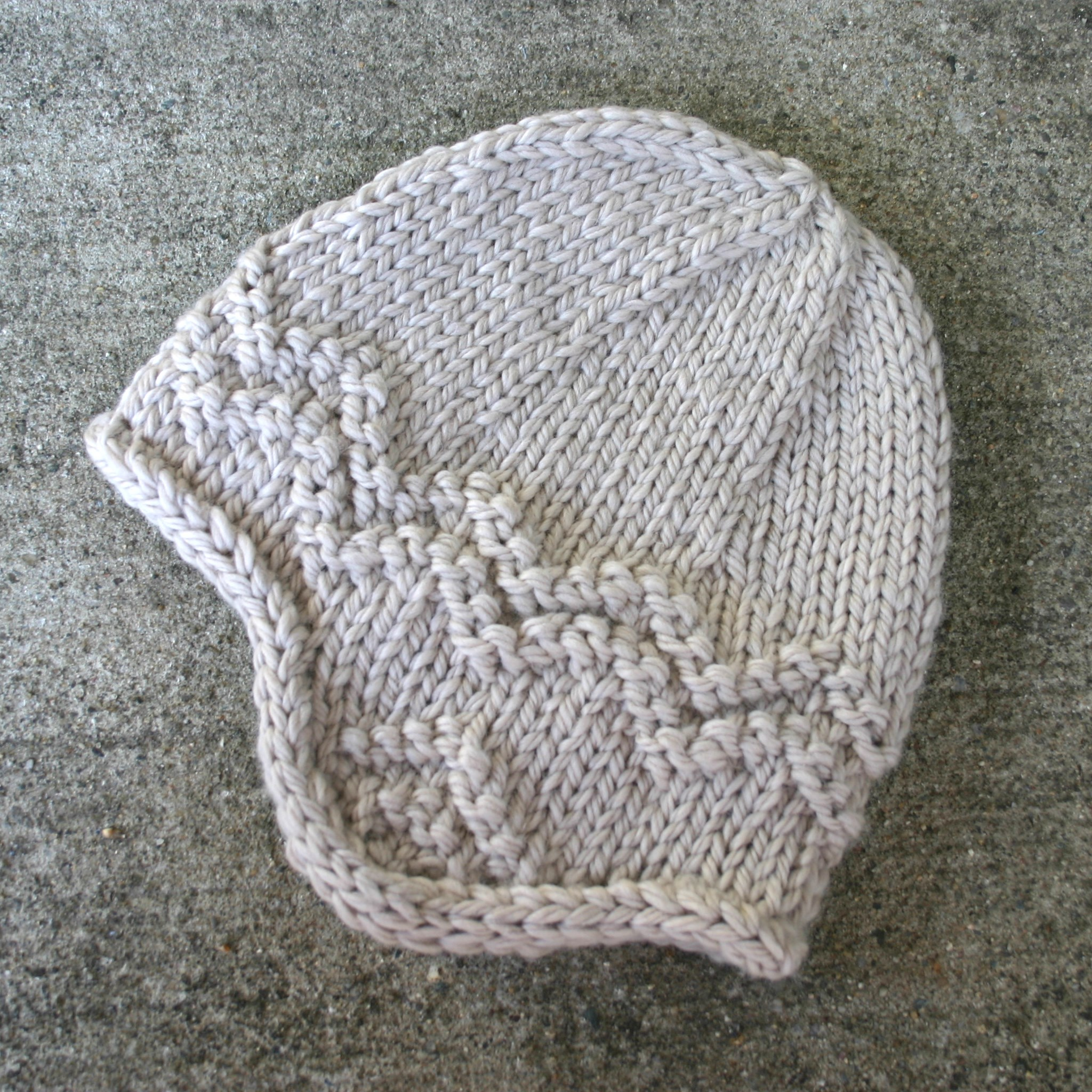 Baby Earflap Hat Knitting Pattern Free Knitting Pattern North Shore Hat Two Strands