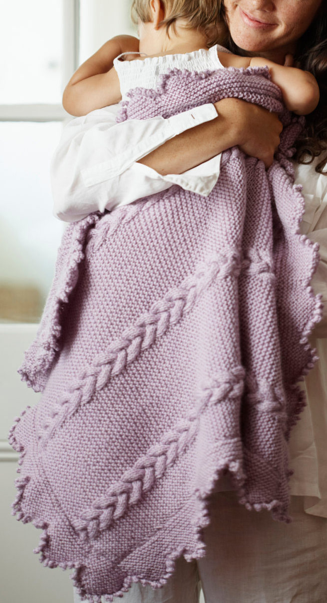 Baby Girl Blanket Knitting Patterns Awww Some Ba Blanket Knitting Patterns In The Loop Knitting