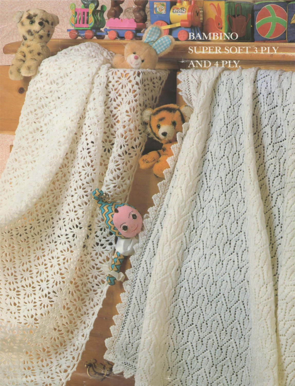 Baby Girl Blanket Knitting Patterns Babies Shawl Crochet And Knitting Pattern Pdf Ba Boys Or Girls