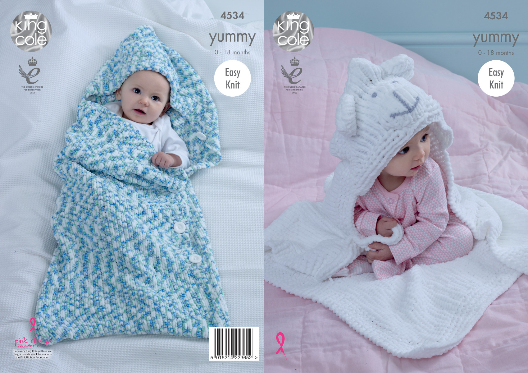 Baby Girl Blanket Knitting Patterns Details About Easy Knit Ba Cocoon Sheep Blanket Knitting Pattern King Cole Yummy Chunky 4534