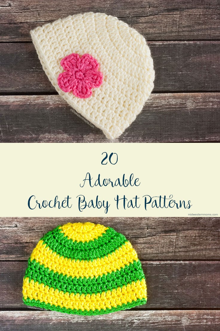 Baby Hat Patterns To Knit 22 Adorable Free Crochet Ba Hat Patterns