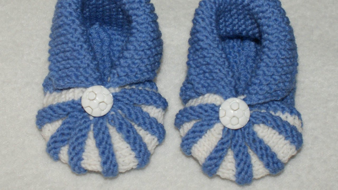 Baby Socks Knitting Patterns How To Knit Simple And Cute Ba Booties Diy Crafts Tutorial Guidecentral