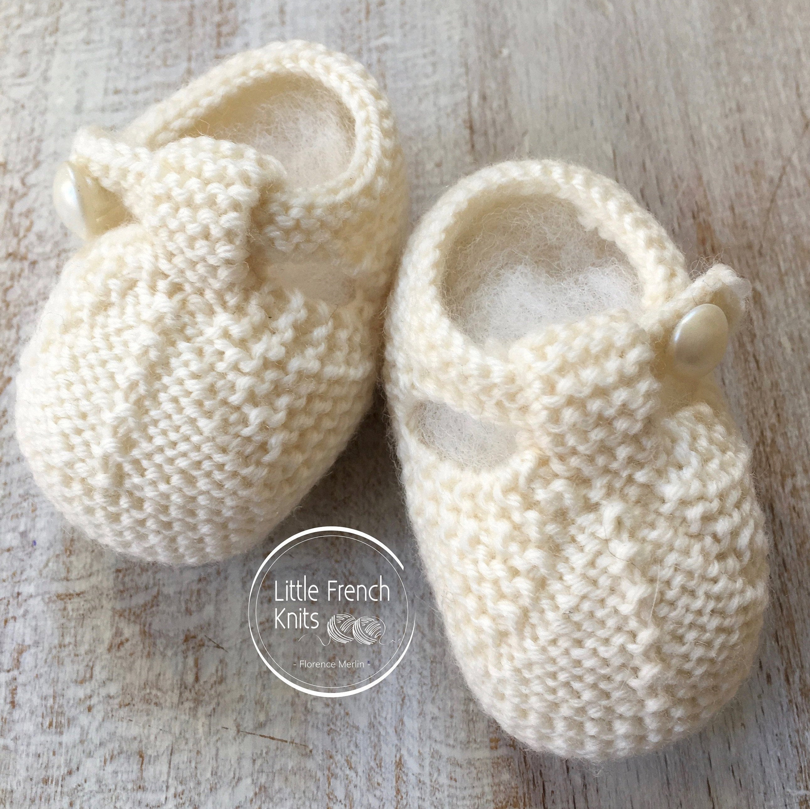 Baby Socks Knitting Patterns Knitting Pattern Ba Booties Instructions In English Instant Digital Download Pdf Sizes Newborn To 9 Months