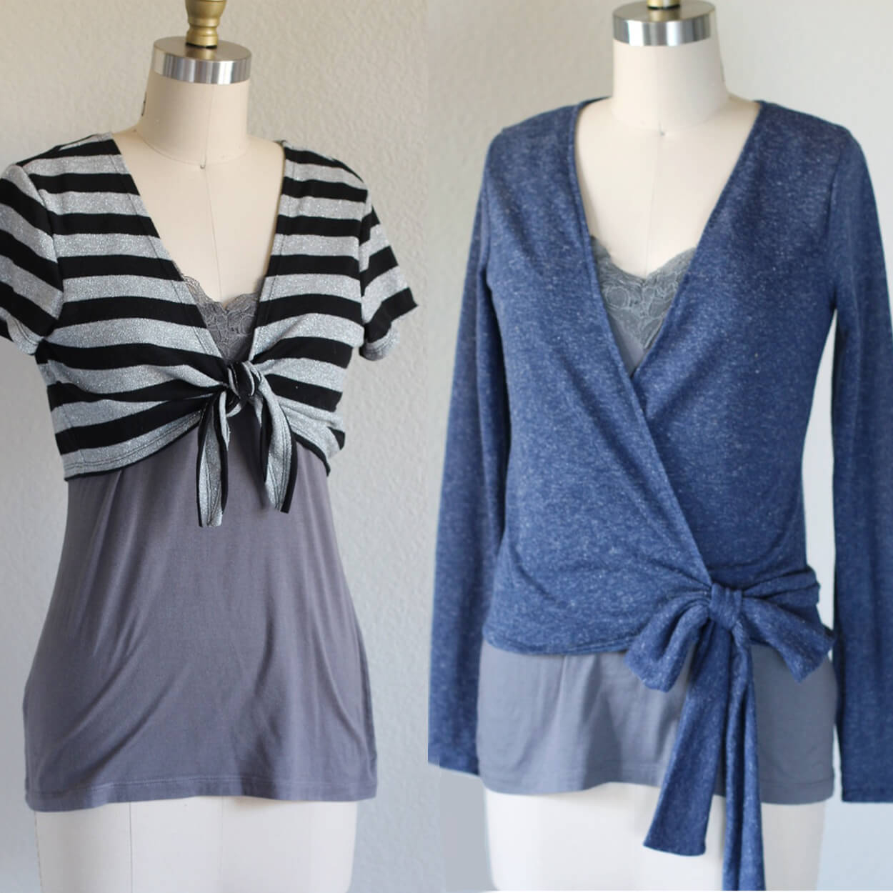 Ballet Cardigan Knitting Pattern Copeland Cardi Tie Front Cardigan And Ballet Wrap Sweater Top For Women