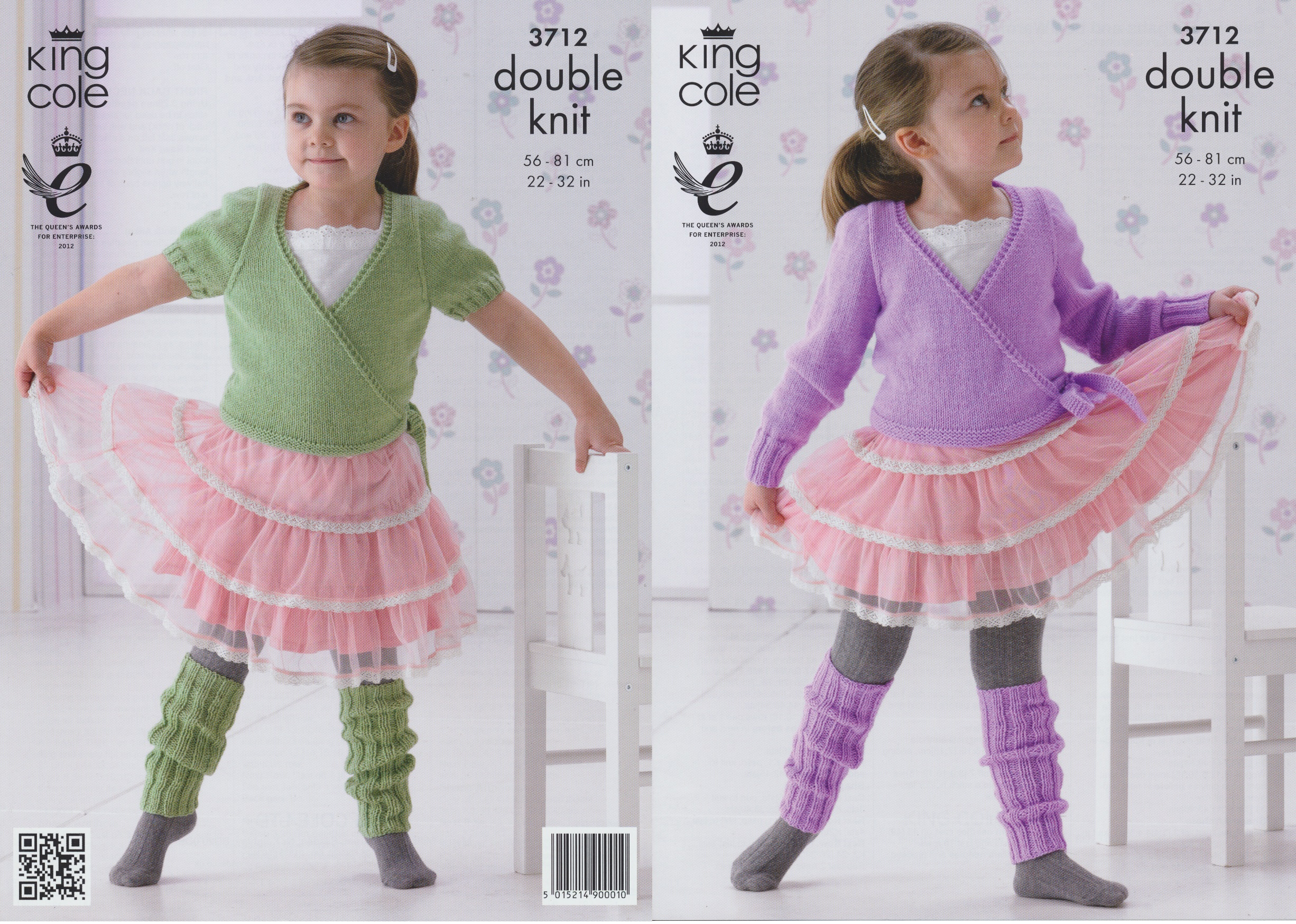 Ballet Cardigan Knitting Pattern Details About Girls Dk Ballet Cardigans Leg Warmers Knitting Pattern King Cole 3712