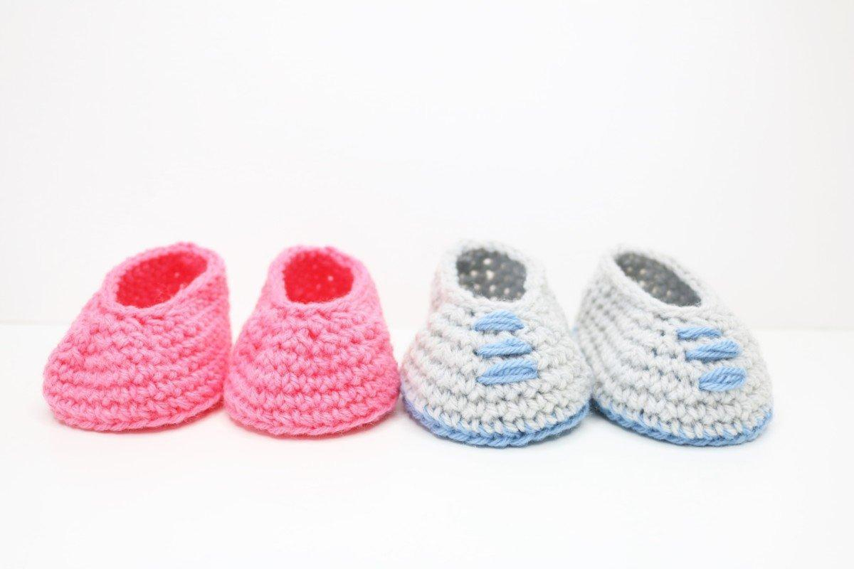 Basic Baby Booties Knitting Pattern Easy Ba Booties Bella Coco Crochet