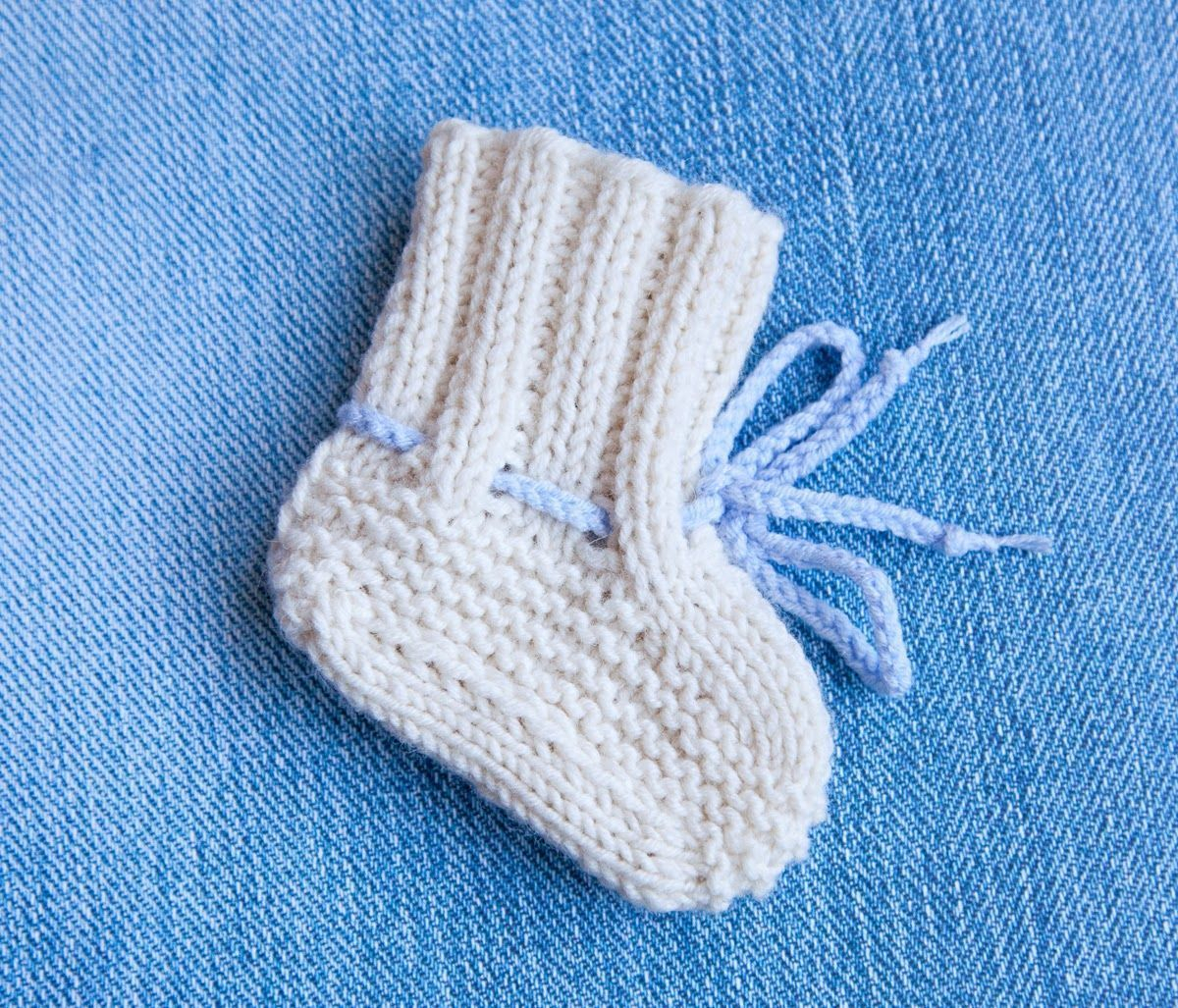 Basic Baby Booties Knitting Pattern Topic For Directions For Knit Ba Booties Crochet Plaid Cuff Ba
