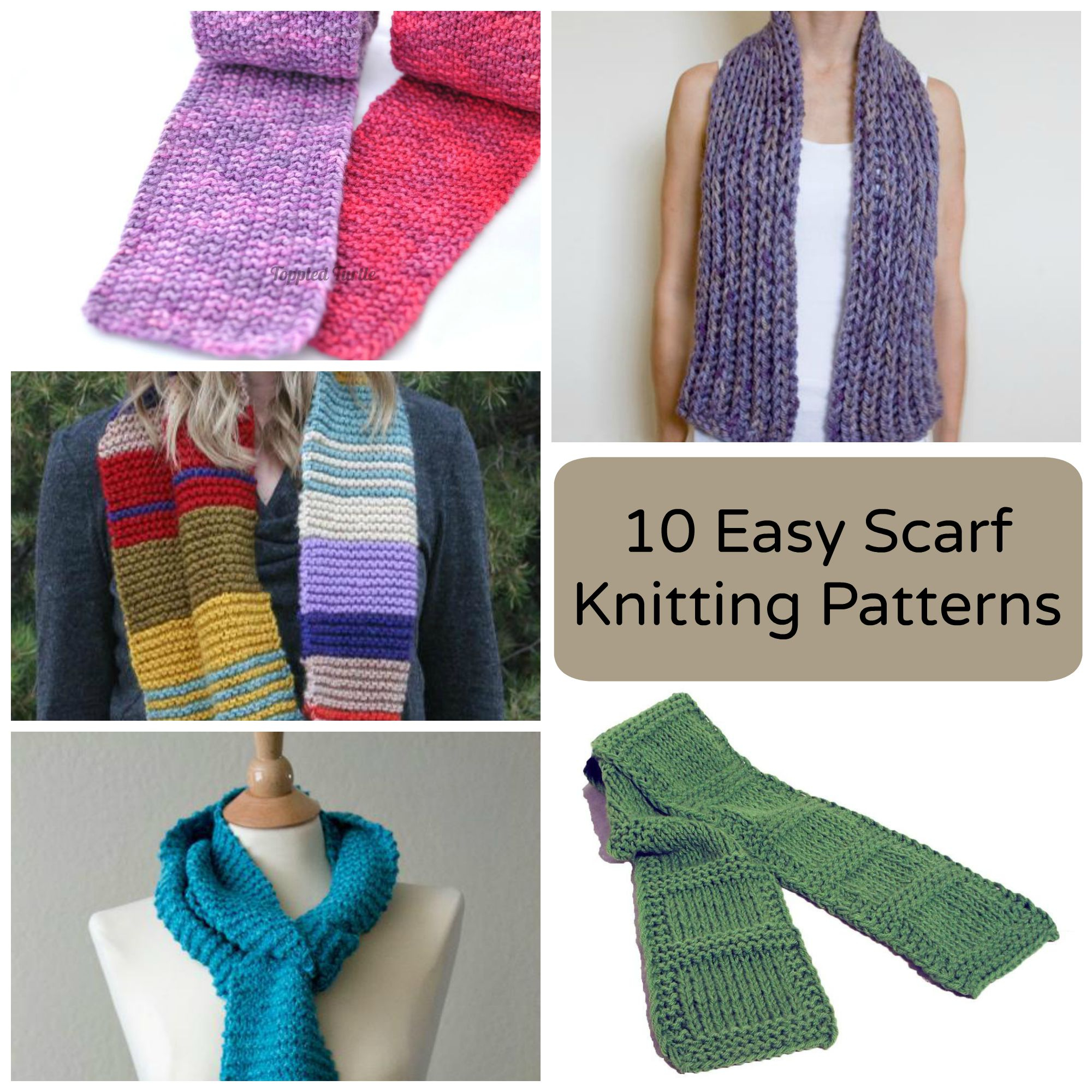 Basic Knitting Scarf Patterns Beginner Knitted Scarf Patterns To Try Out Crochet And Knitting