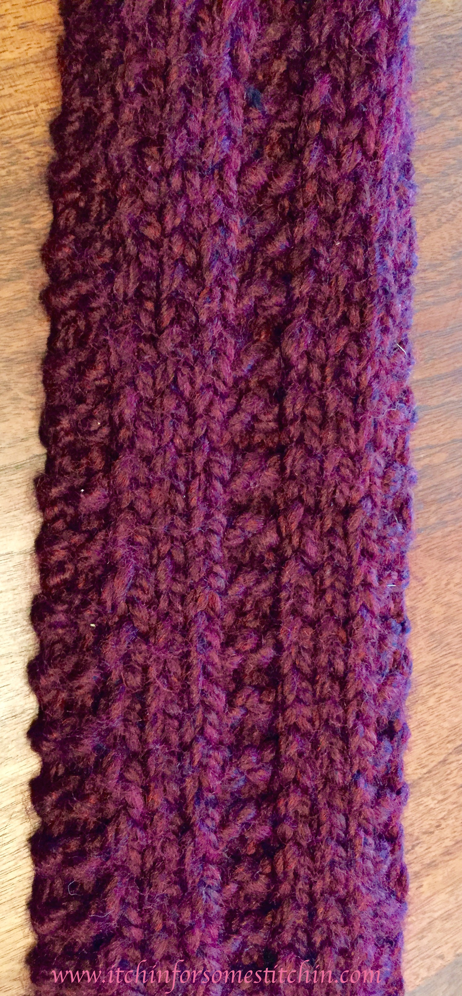 Basic Knitting Scarf Patterns Free Easy Knit Scarf Pattern Itchin For Some Stitchin