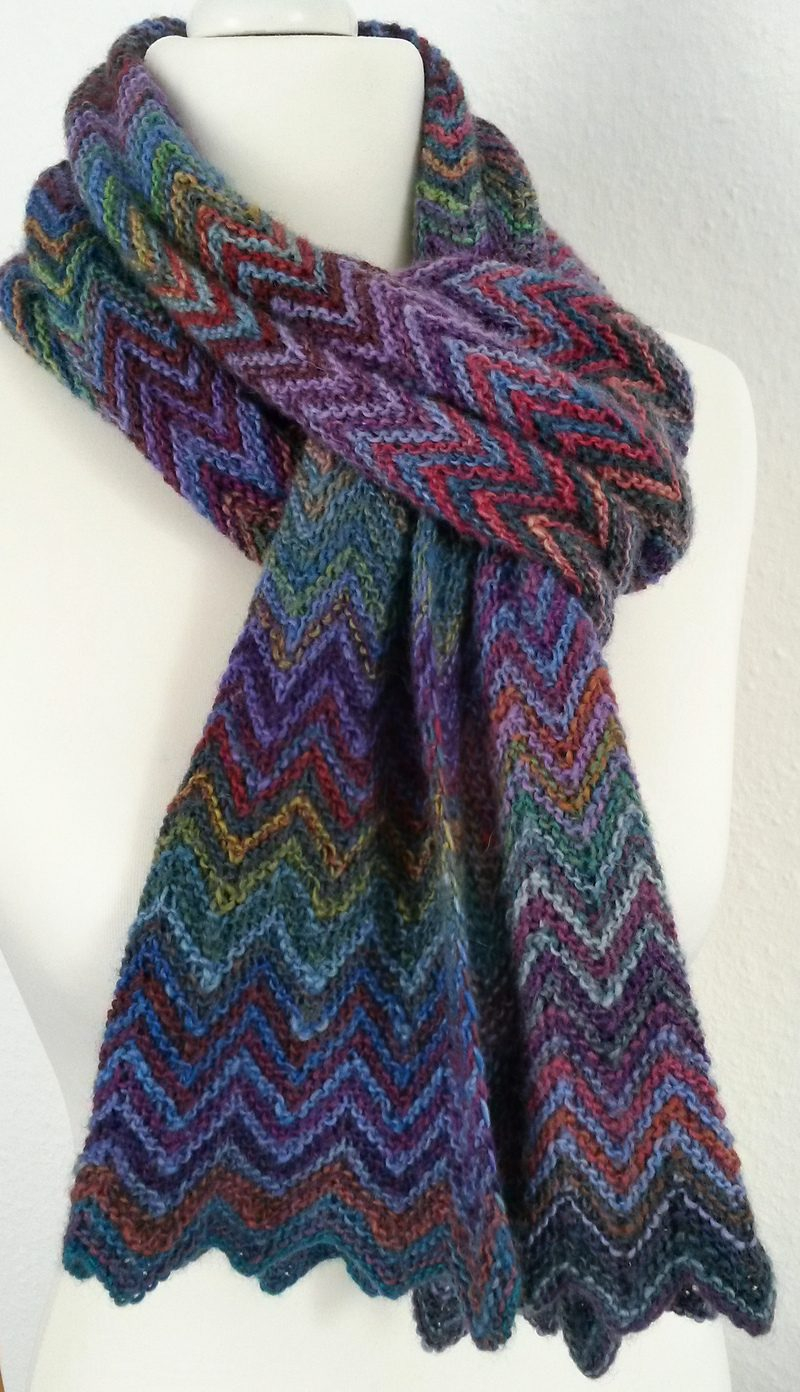Basic Knitting Scarf Patterns Knit A Scarf Selecting A Design From Knitted Scarf Patterns