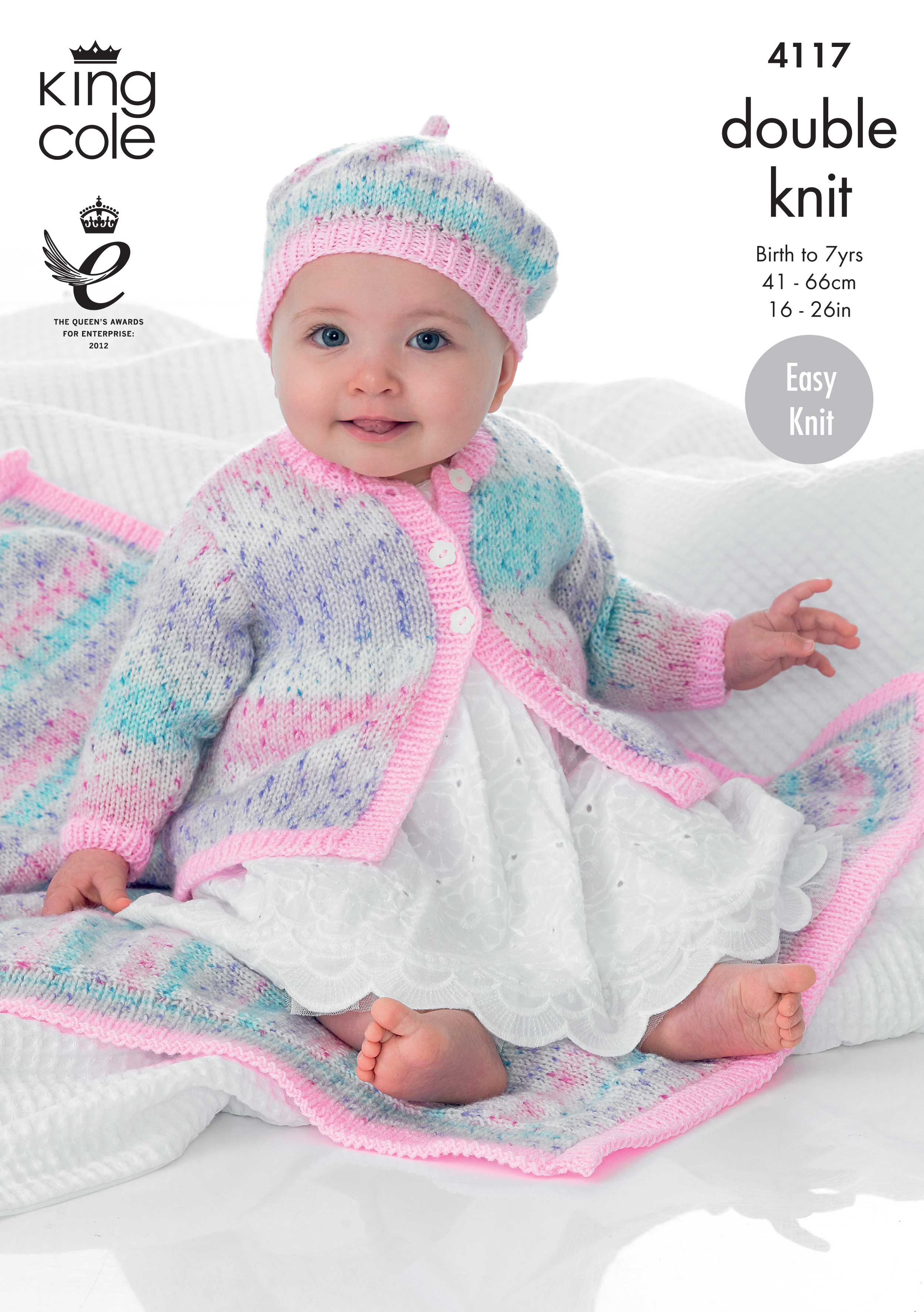 Beret Knitting Pattern Easy Easy To Follow Coat Beret And Blanket Knitted With Splash Dk
