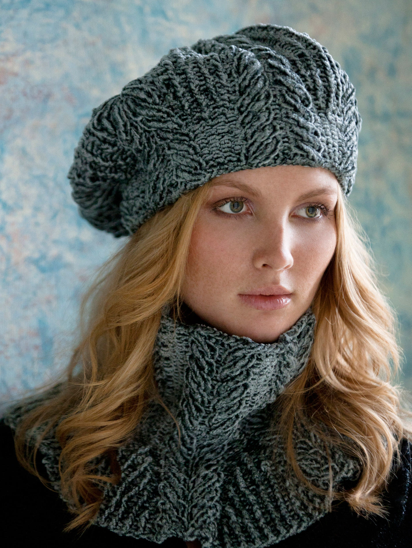 Beret Knitting Pattern Easy Webs Yarn Store Blog Free Pattern Thursday Sandra Cabled Cowl