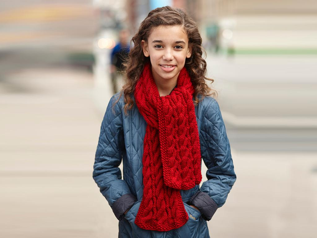 Cable Knitted Scarf Pattern 5 Beginner Cable Knit Scarf Patterns
