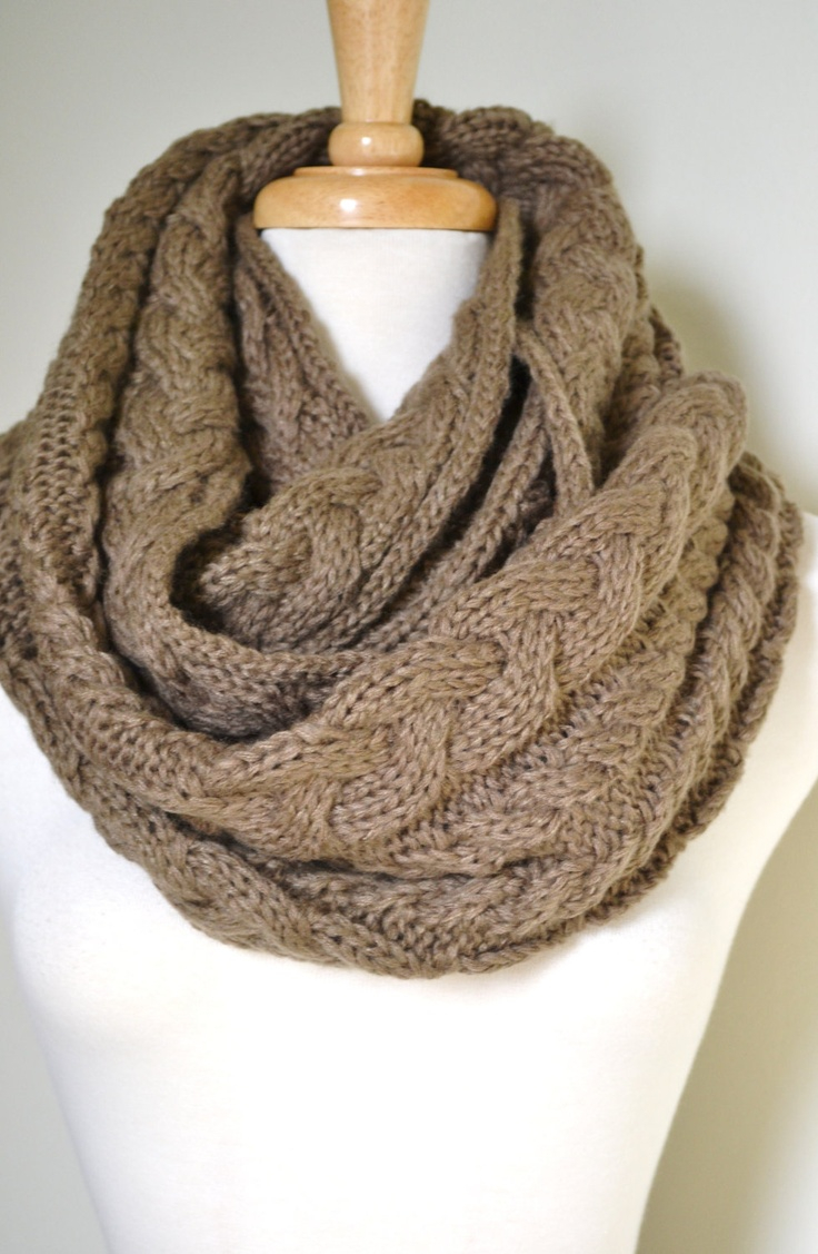 Cable Knitted Scarf Pattern Infinity Scarf Knitting Patterns In The Loop Knitting Ladies