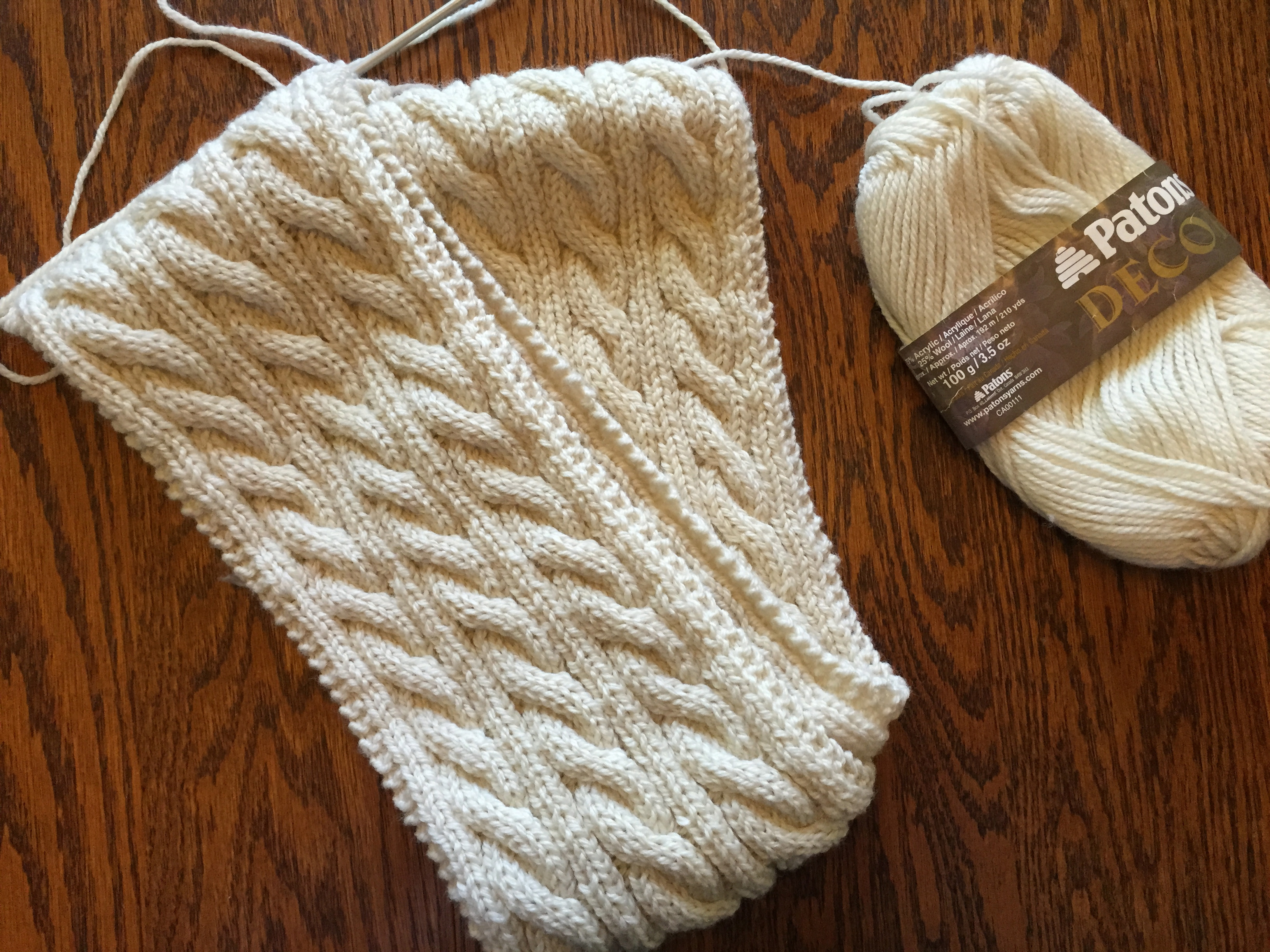Cable Knitted Scarf Pattern Irish Hiking Scarf Off The Grid Needlearts