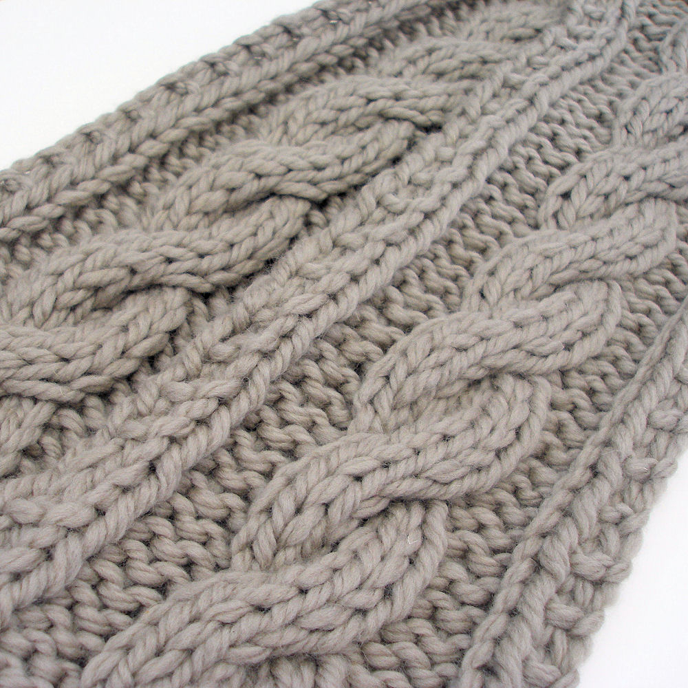 Cable Knitted Scarf Pattern Knitting Patterns Beginners Scarf Knitting Cable Stitch Patterns