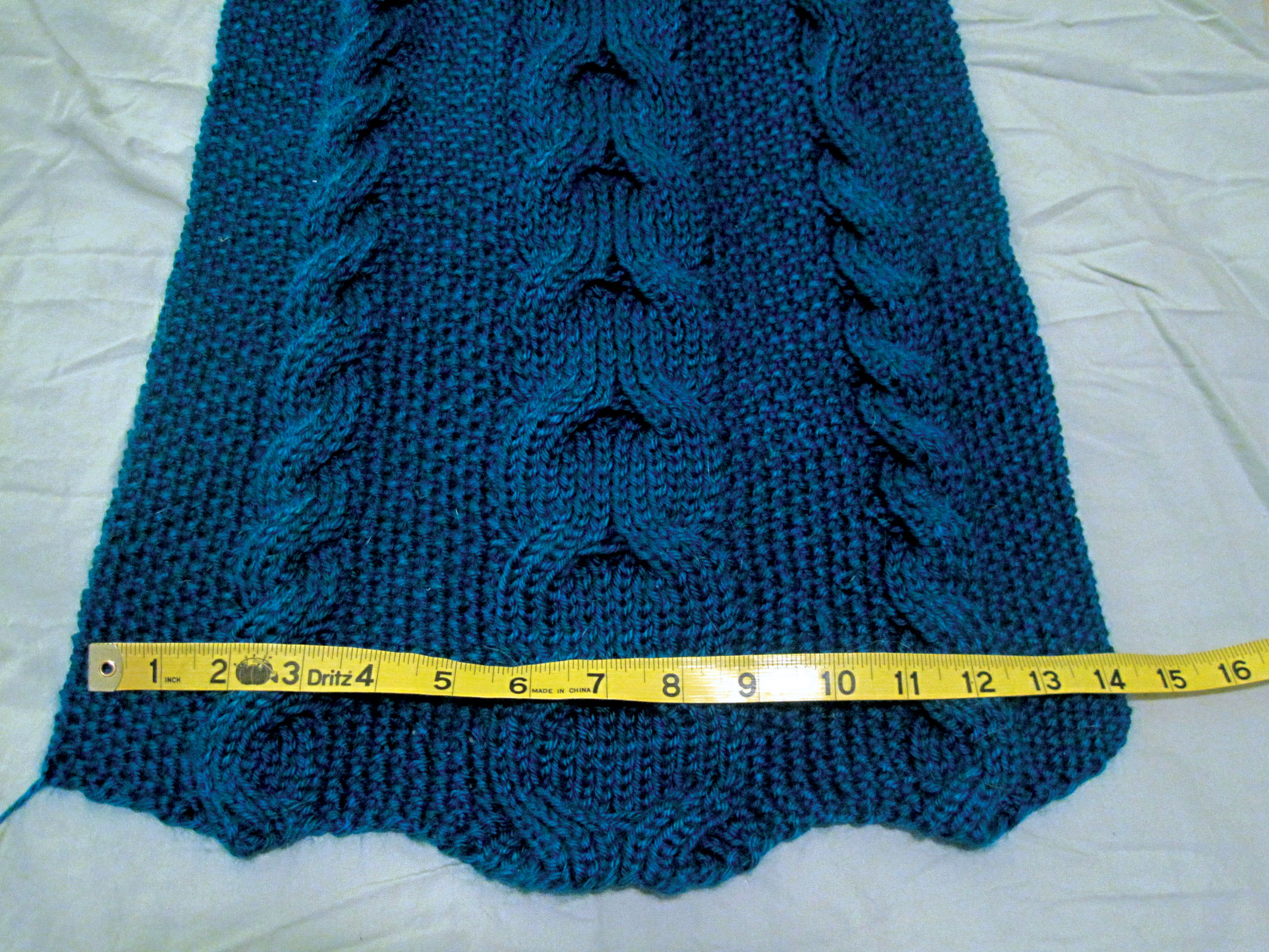 Cable Knitted Scarf Pattern Reversible Cable Scarf From Vogue Knitting The Stitcherati