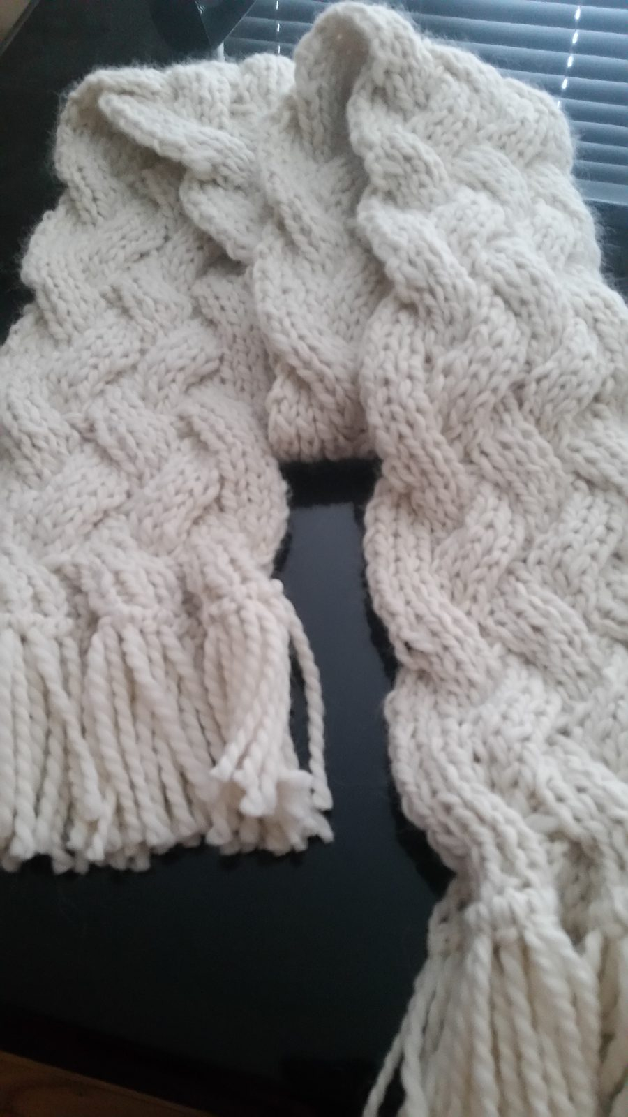 Cable Knitted Scarf Pattern Reversible Scarf Knitting Patterns In The Loop Knitting