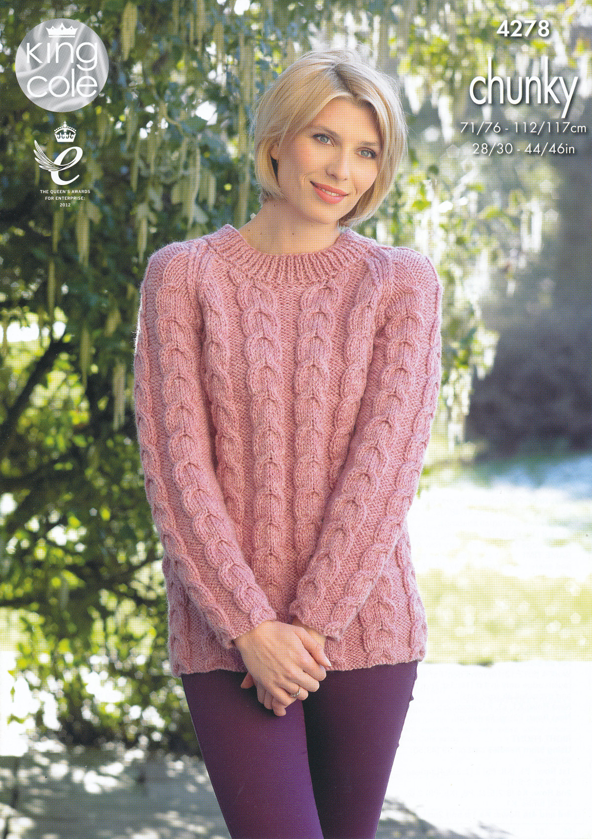 Cardigan Sweater Knitting Pattern Details About King Cole Womens Chunky Knitting Pattern Ladies Cable Knit Sweater Cardigan 4278