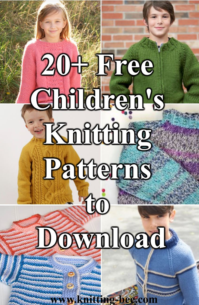Childrens Aran Knitting Patterns 20 Free Childrens Knitting Patterns To Download Now