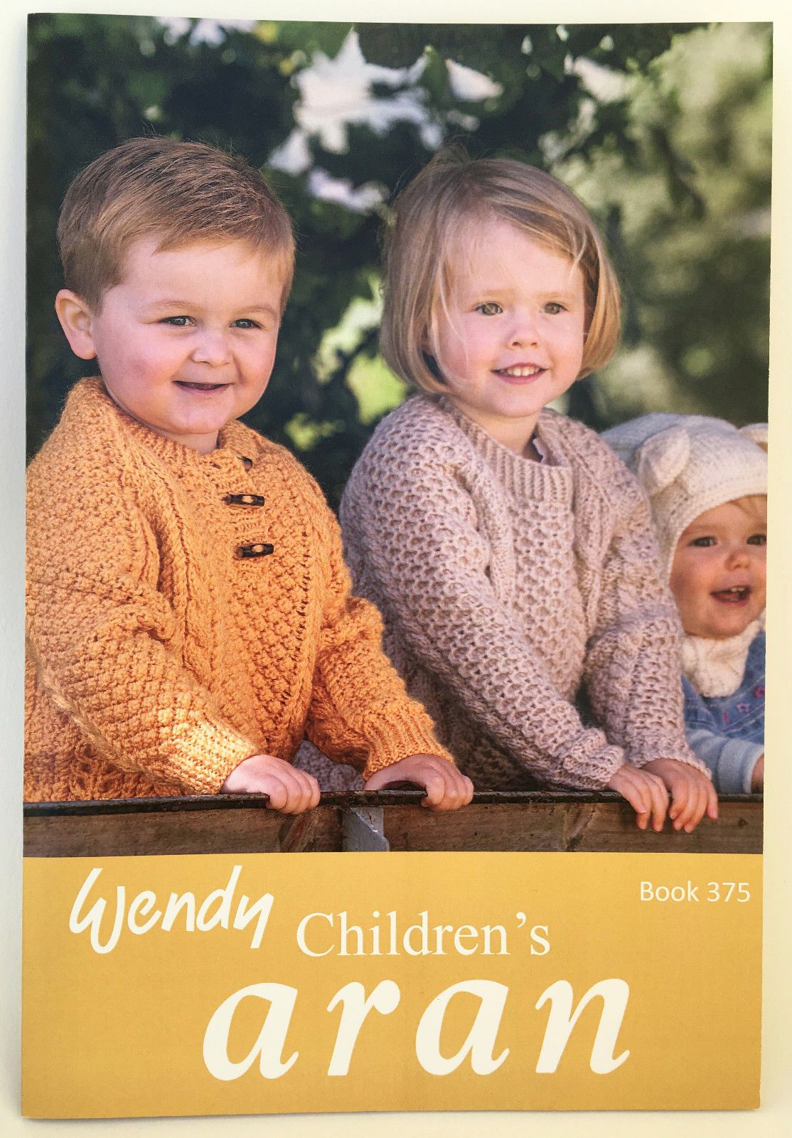 Childrens Aran Knitting Patterns Wendy Childrens Aran Knitting Pattern Book Number 375