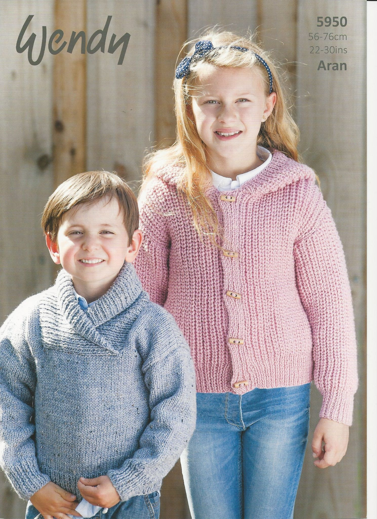 Childrens Aran Knitting Patterns Wendy Childrens Sweater Hoodie Aran Knitting Pattern 5950