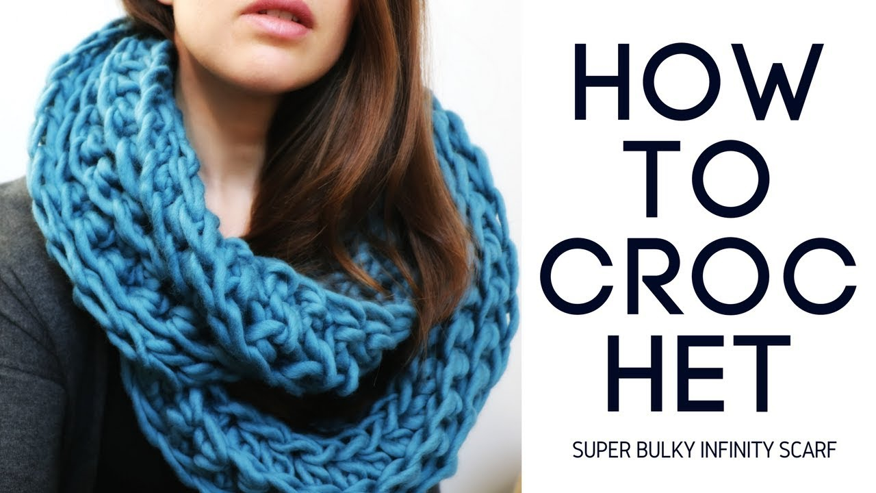 Chunky Knit Infinity Scarf Pattern Super Bulky Ribbed Infinity Scarf