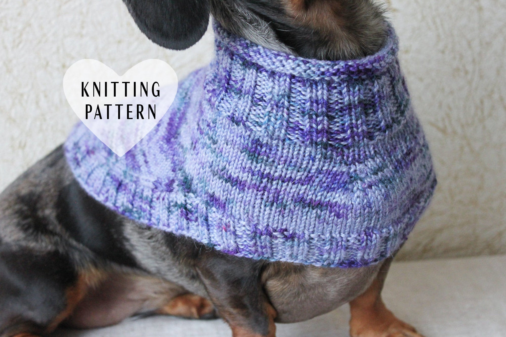 Dachshund Jumper Knitting Pattern Knitting Pattern Dachshund Capelet Dog Sweater Knitted Dog Cowl Miniature Dachshund Clothes Dog Clothes Doxie Capelet Pet Clothes
