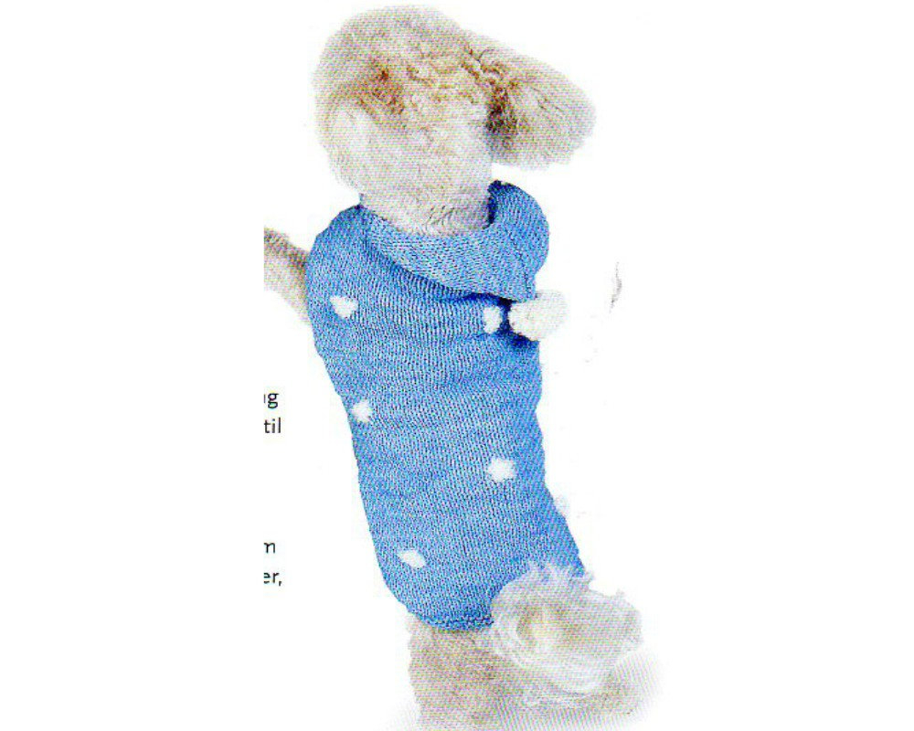Dog Sweater Knitting Patterns Hoodie Dog Sweater Knitting Pattern Dog Sweater Coat With Hood Knitting Pattern Small Med Large Pdf Instant Download