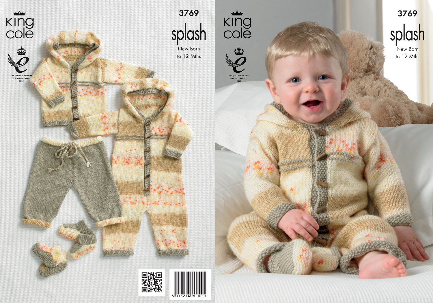 Double Knitting Baby Patterns Details About Ba Double Knitting Pattern Splash Dk King Cole Coat Trousers All In One 3769
