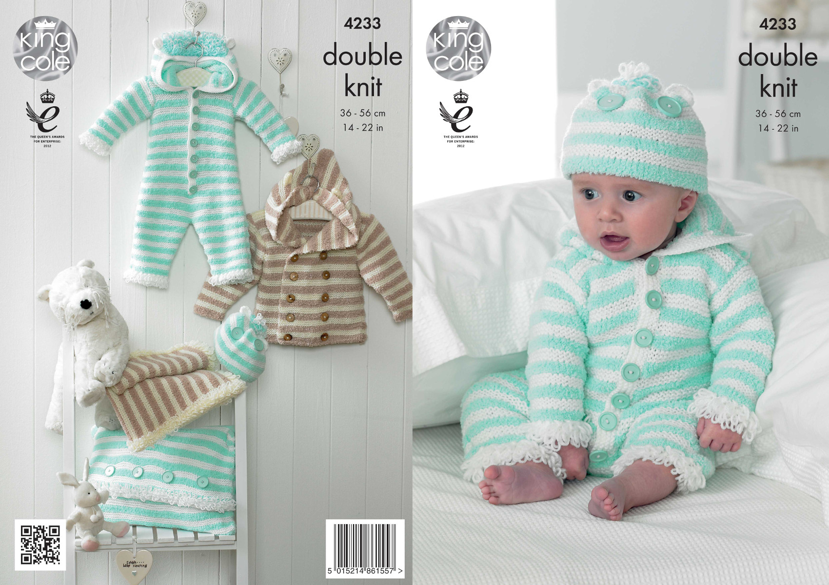 Double Knitting Baby Patterns Details About King Cole Cuddles Dk Double Knit Pattern Ba All In One Coat Hat Blanket 4233