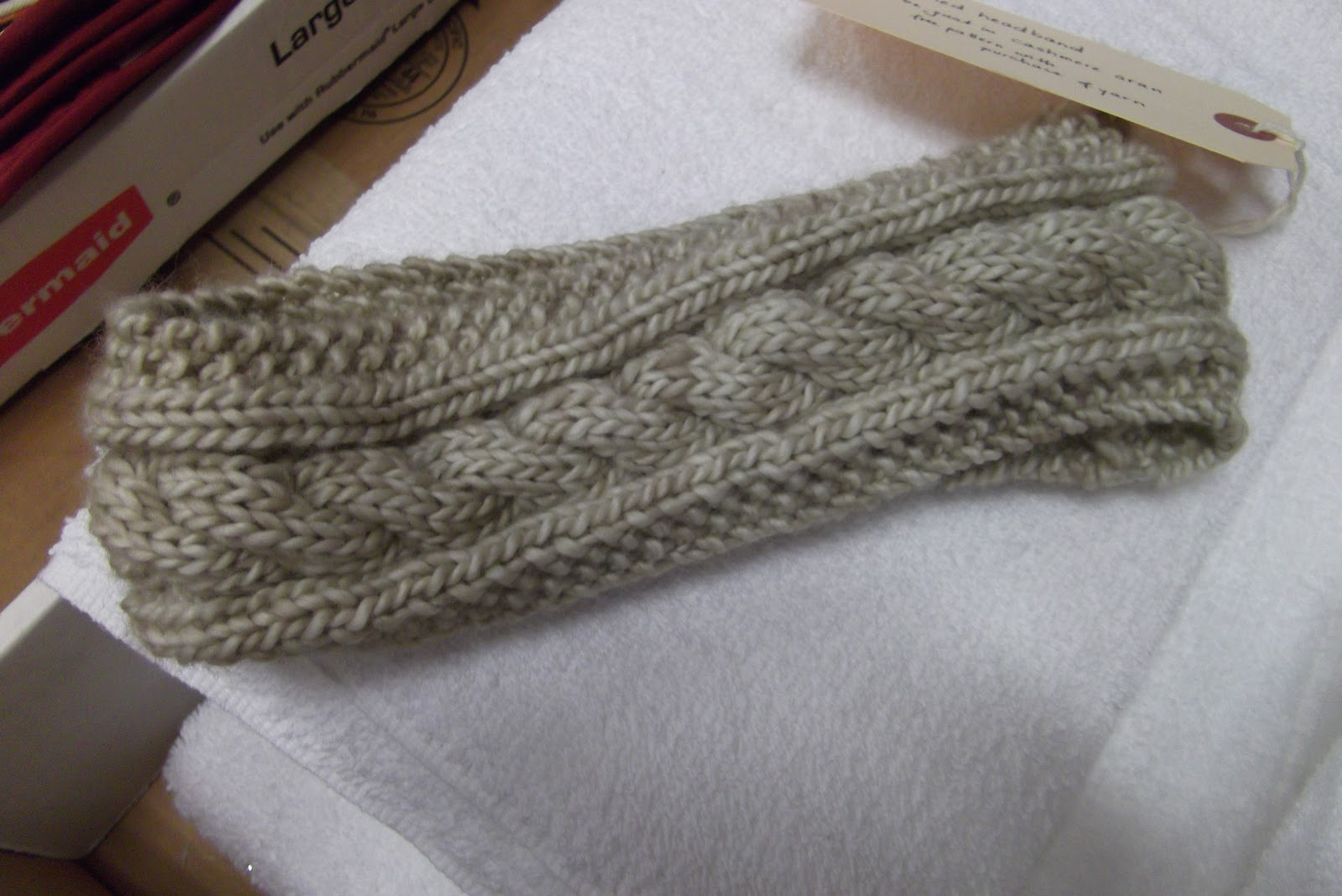 Easy Cable Knit Headband Pattern Discover Your Inner Knitter With Doris Cabled Headband Free Pattern