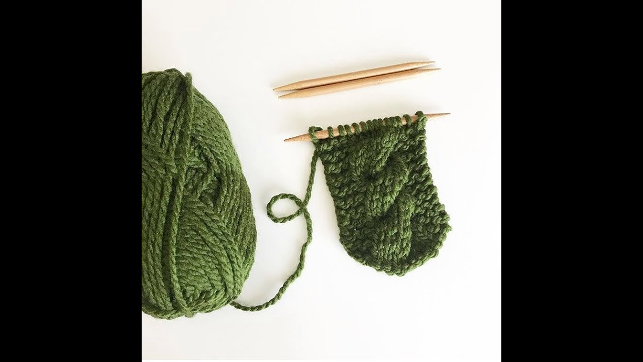 Easy Cable Knit Headband Pattern Knitted Cable Headband Tutorial