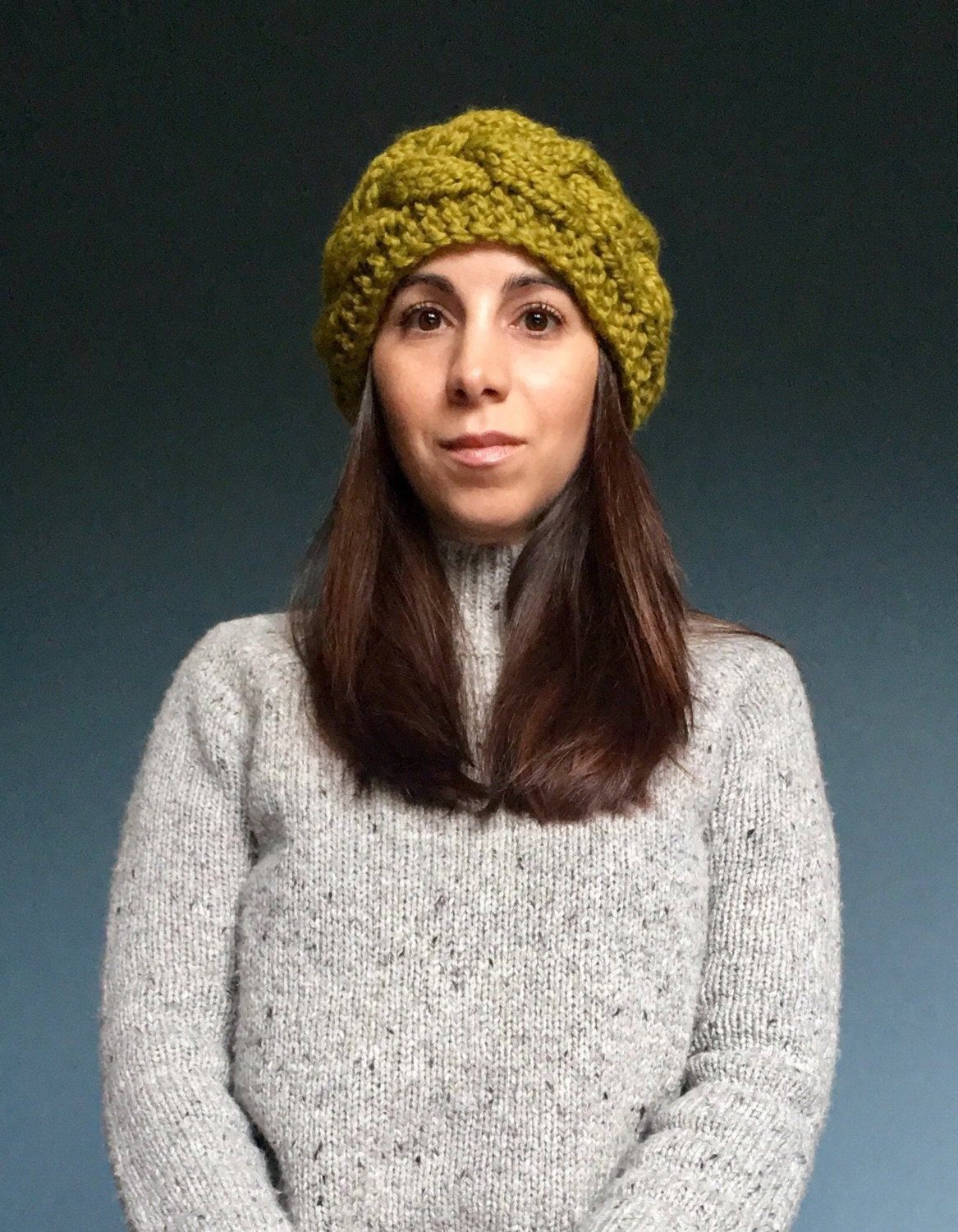 Easy Cable Knit Headband Pattern Knitting Pattern The Emma Cabled Ear Warmer Headband