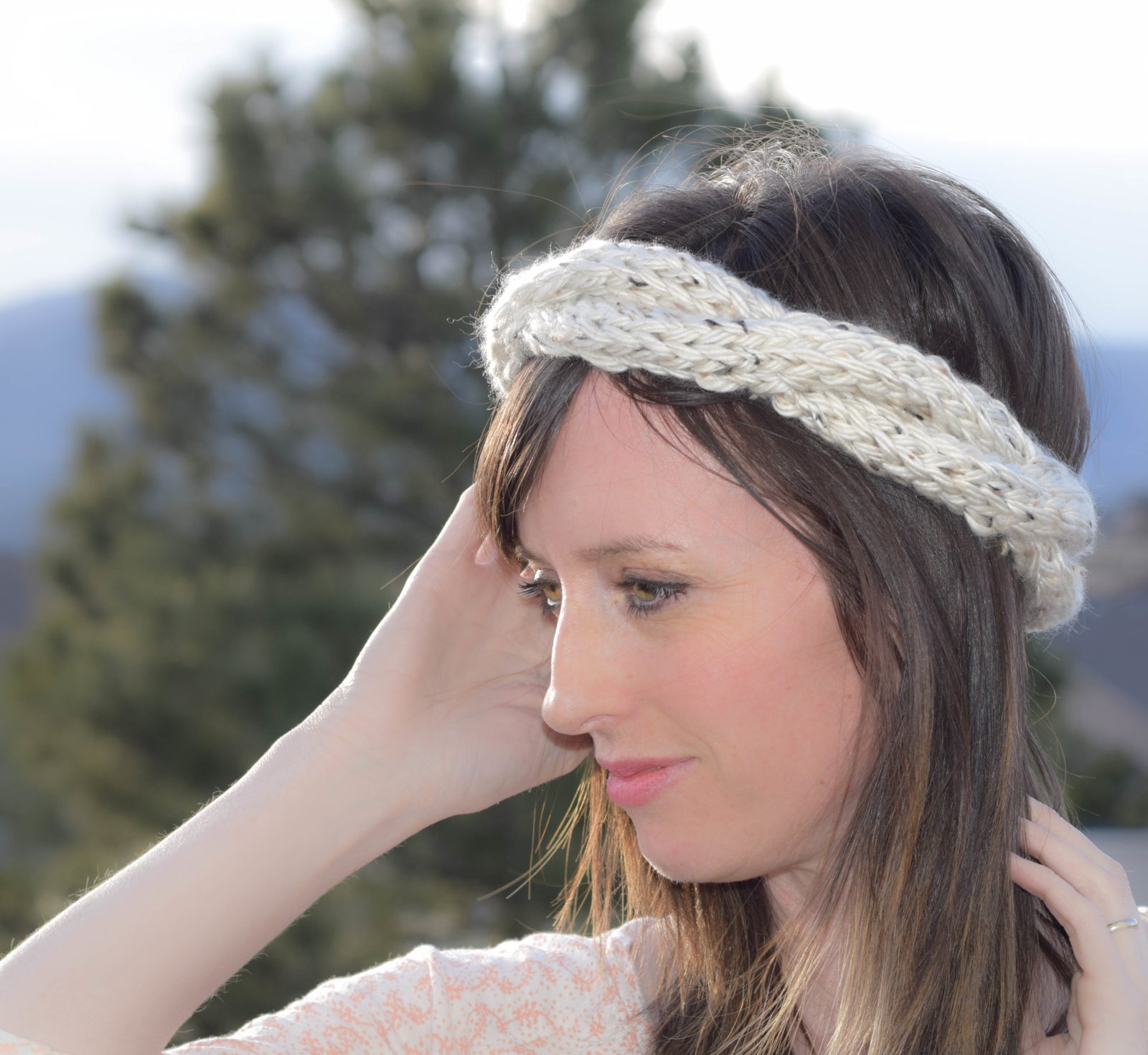 Easy Cable Knit Headband Pattern Spring Cabled Crown Knit Headband Pattern Mama In A Stitch
