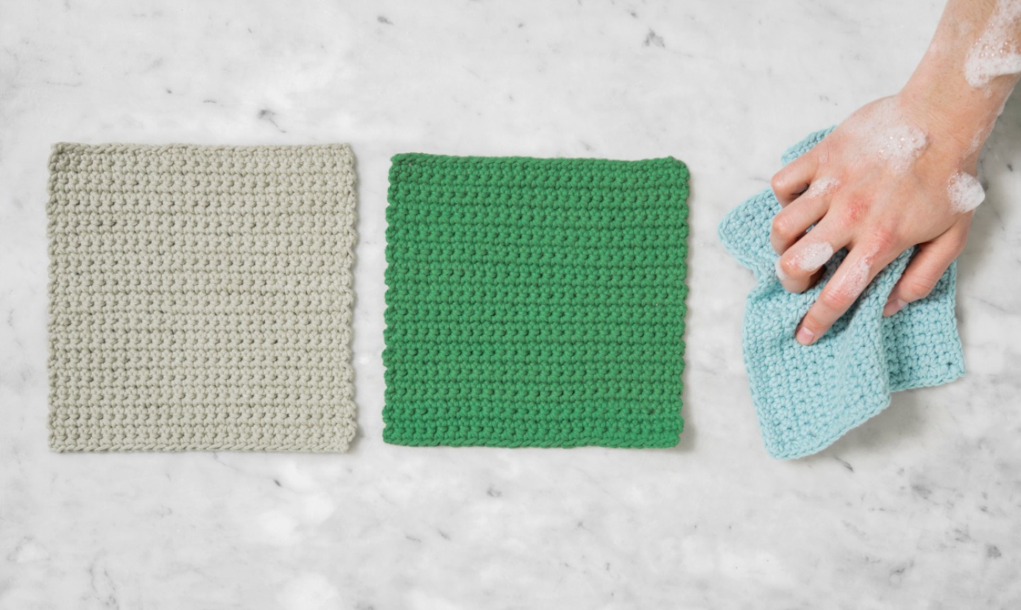 Easy Dishcloth Knit Pattern Easiest Crochet Project Ever Stitch A Dishcloth