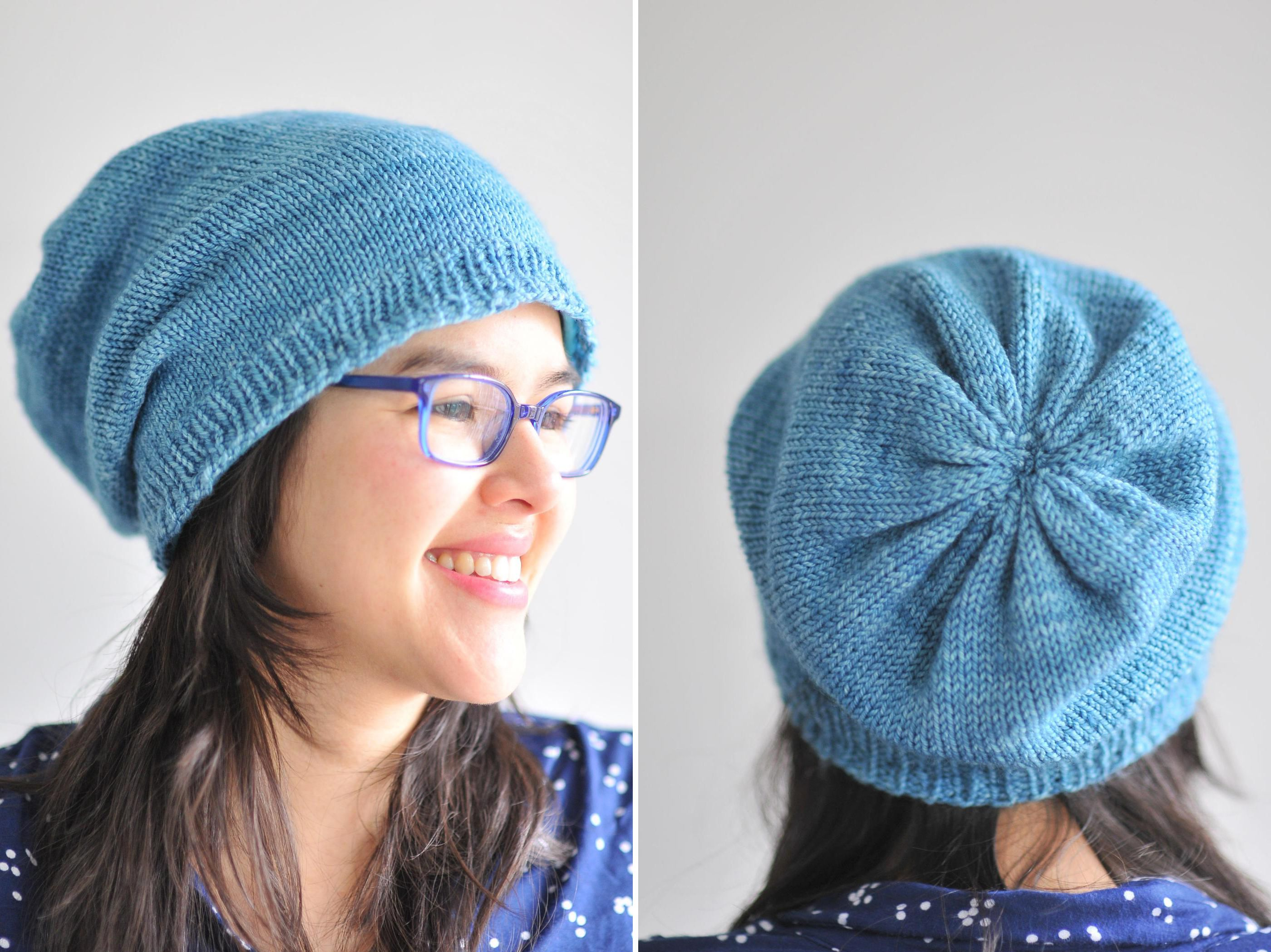 Easy Knit Hat Pattern For Beginners 25 Easy Knitting Patterns For Beginners