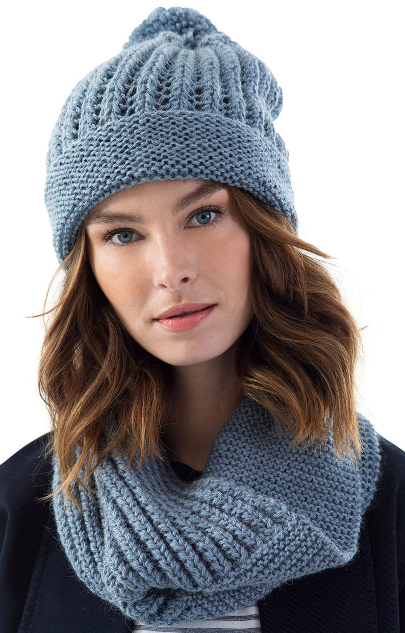 Easy Knit Hat Pattern For Beginners Beginner Knitting Patterns In The Loop Knitting