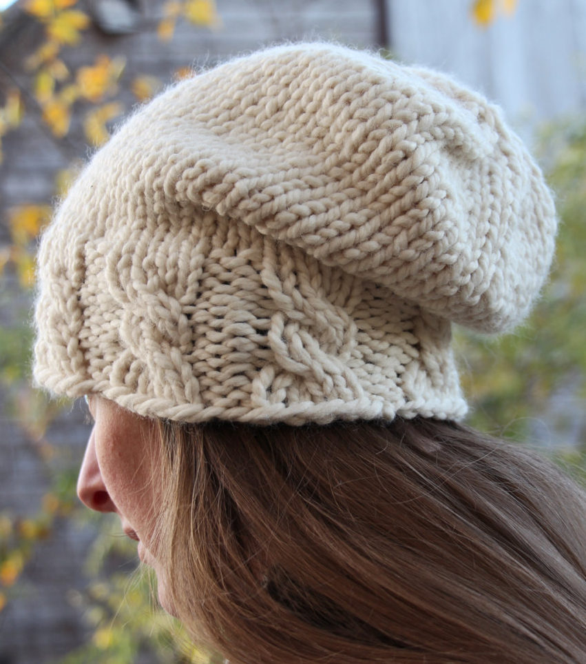 Easy Knit Hat Pattern For Beginners Knit Hat Tutorial