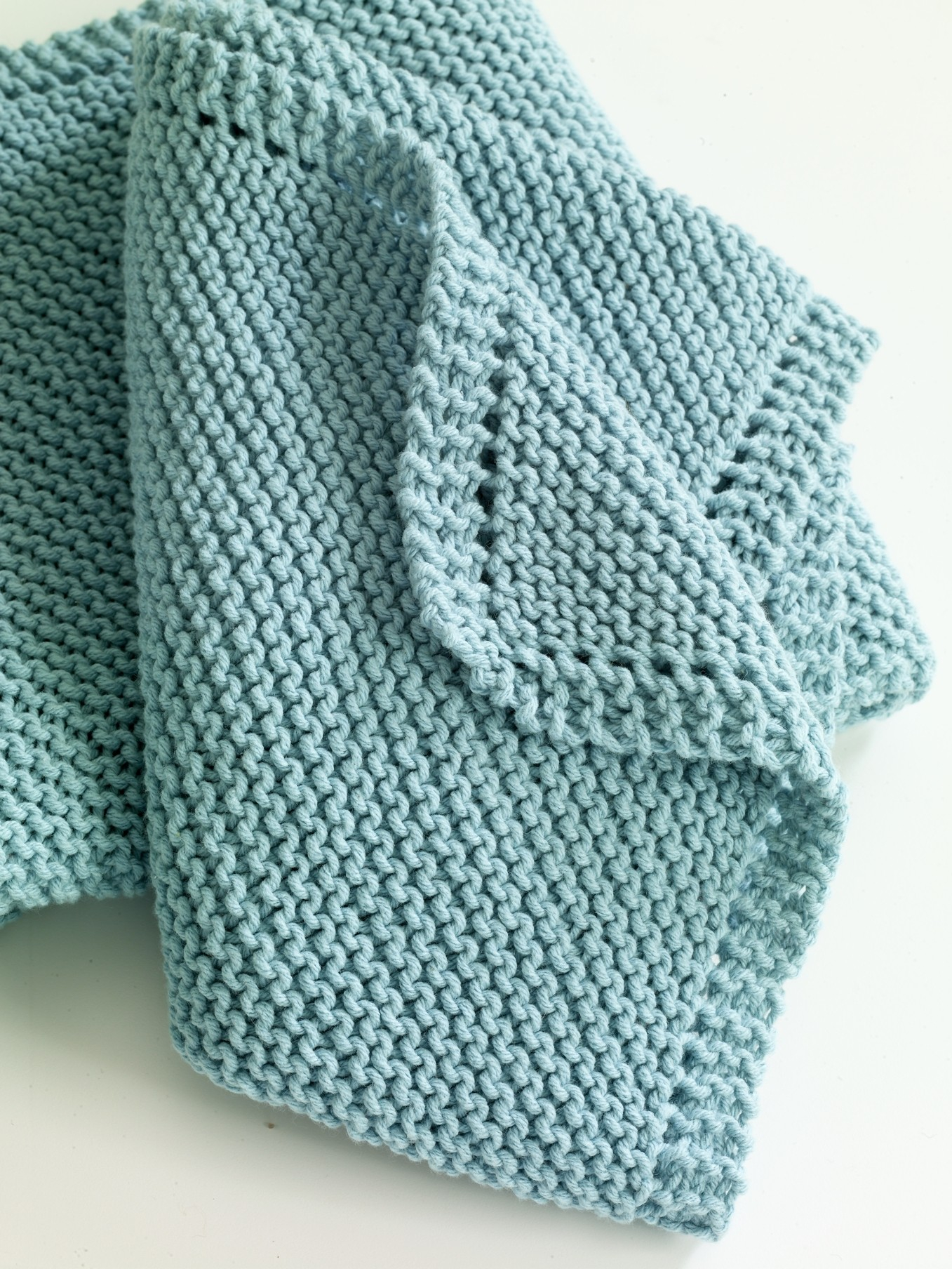 Easy Knitting Pattern For Baby Blanket Blankets Threadsnstitches