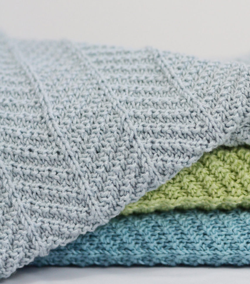 Easy Knitting Pattern For Baby Blanket Knitted Afghan Patterns Craft Blog Crochet Patterns