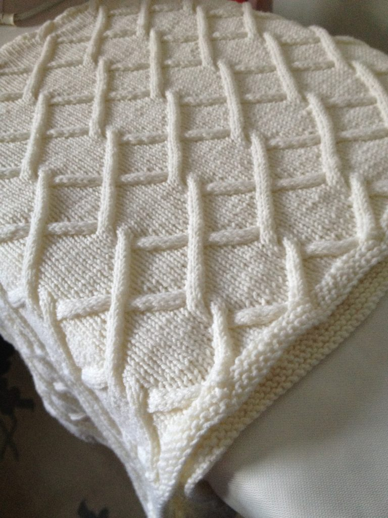 Easy Knitting Pattern For Baby Blanket Quick Ba Blanket Knitting Patterns In The Loop Knitting