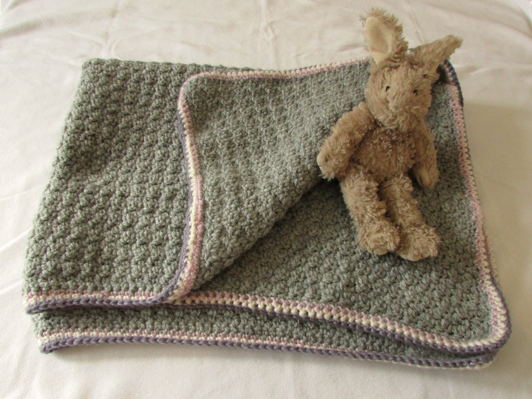 Easy Knitting Pattern For Baby Blanket Three Easy Crochet Ba Blanket Ideas Crochet And Knitting